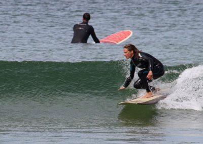 Surfer at Perran