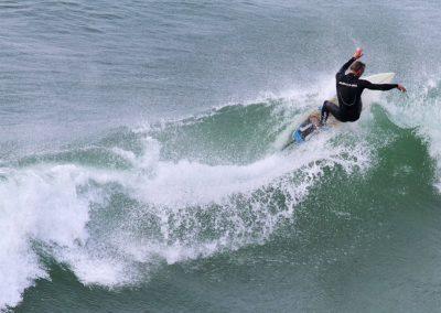 surfing perranuthnoe cornwall